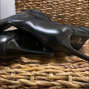 Beautiful Black Leather Boots from Aldo, size 36